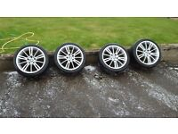 "BMW MV3 18"" Alloys and tyres"