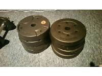 8 X 2.5kg weight plates