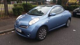 NISSAN MICRA (SPORT) CONVERTIBLE - 06-REG - 2006 (NEW SHAPE) 2 DOOR - 1.6 LITRE - £1400