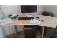 Computer/office desk £50, pick up only Lambhill