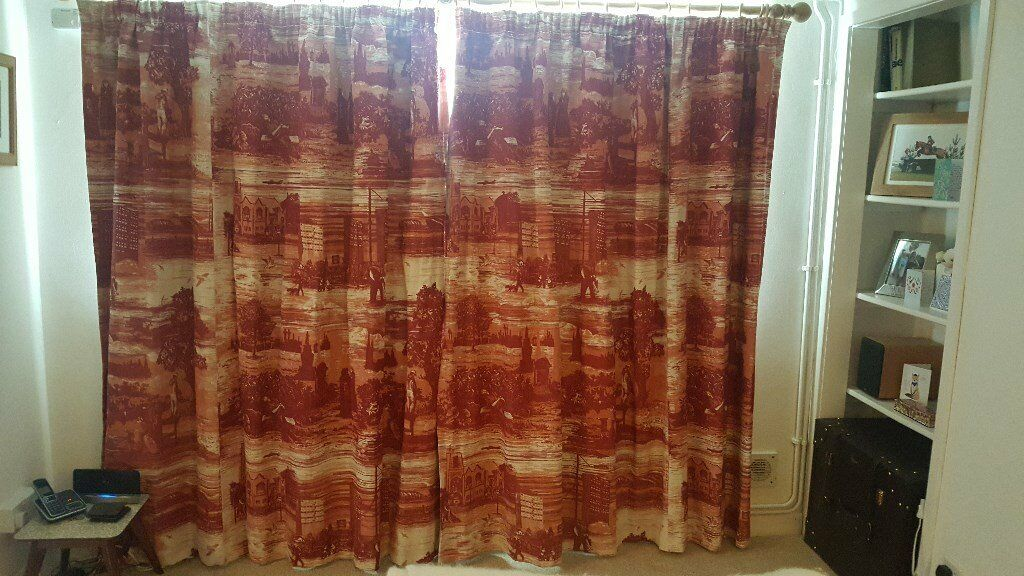 Timorous Beasties Curtains Glasgow Toile Fabric Looking