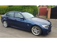 2010 BMW 320D 2.0TD EFFICIENT DYNAMICS £20 TAX .92k.M sport bumpers and alloys