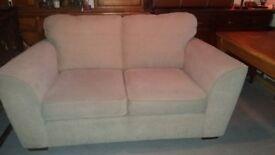 NEXT 2 seater sofa in beige / cream fabric