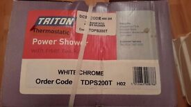 Triton Thermostatic Power Shower new unopened