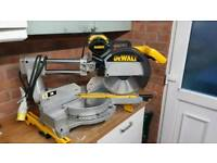 Dewalt DW08L-xw 110V double bevel compound Mitre Chop Saw