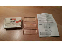ELCH Fugenboy Silicone Tool Kit 3 Piece. Square, Round. Plumbing, Tiling Tools. NEW IN BOX