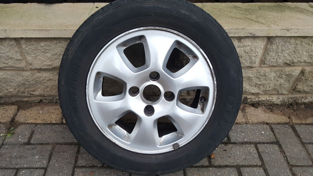 Ford Fiesta Ford Ka Spare Wheel With Tyre