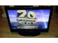 """ALBA 26"""" LCD26ADVD HD Ready Freeview LCD TV with DVD Player New Remote"""