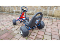 Spiderman Go cart, go kart, pedal car, childs , childrens, 3 years + kids