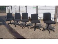 Office Chairs (X10) Grab a Bargain | £5 Each If Bought Together