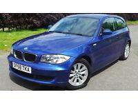 2008 58 BMW 116I ES AUTO 1.6 BLUE 65K(PART EX WELCOME)***FINANCE AVAILABLE***6 MONTHS WARRANTY***