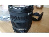 Sigma 17-70 2.8-4 macro Nikon F mount