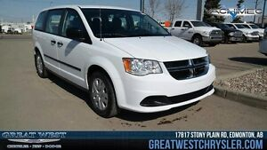 2016 Dodge Grand Caravan 4dr Wgn Canadian Value Package