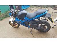 Gilera dna 50cc motorbike and donor bike