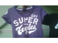 superdry tshirt size XS
