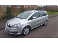 2005 VAUXHALL ZAFIRA CLUB FOR SALE VERY LOW MILEAGE