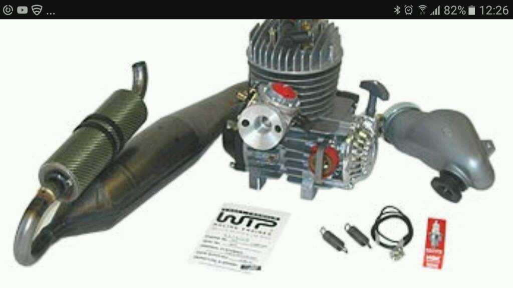 Wtp go cart racing engine