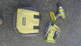 Cordless drill and jigsaw £60