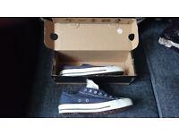 Converse Allstar BlueCanvas Shoes 5.5 As-new