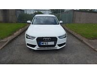 Audi A4, 2.0D, TDI SE 143, white, FDSH, full leather, multitronic, 118k