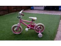 Girls kids bike 3-5yrs