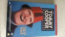 Tommy Cooper DVD & Book Set