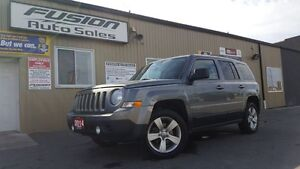 2014 Jeep Patriot North--4x4-Alloy Wheels- Heated Seats-1 Owner