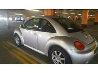 SILVER 1.6 VW BEETLE GREAT CONDITION