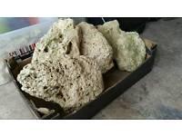 Fish tank coral rock