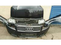Audi a3 2.0 tdi 8p 2005 black front end complete