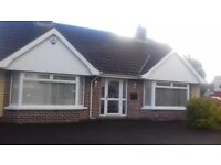 Spacious 2 Bed 2 Reception Bungalow to let