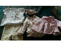Baby girls 6 to 9.months clothes bundle