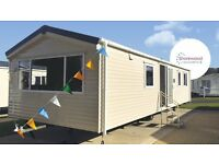 Brand New Europa Shorewood at Witton Castle Country Park. Family Holiday Caravan.