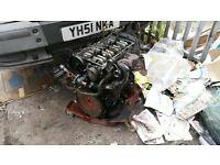 Ford transit 2.5 engine breaking