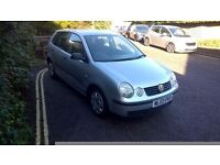 VW Polo 1.2, new mot, 59k miles, just serviced very tidy and very good condition