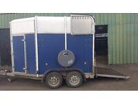 Ifor Williams blue 505 trailer 2005