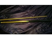 Apollo 17oz snooker cue gold metal colour 2 piece £60 have compared online prices read blw