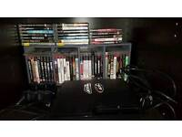 160gb ps3 slim console and games