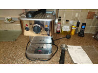 Dualit Espressivo Coffee Machine, with instructons