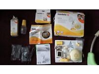 Medela swing electric breast pump and extras-hardly used