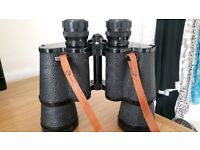 Panorama Binoculars/Leather Case