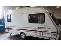 Swift Challenger 400se 2000 anniversary 2 berth with full and porch awning