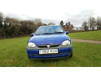VAUXHALL CORSA 1.2 AUTOMATIC, 1 YEAR MOT, VERY LOW MILEAGE, VERY GOOD DRIVE, 4 GOOD TYERS, CHEAP INS