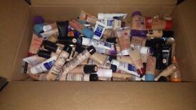 Make up foundations joblot 100 sample size