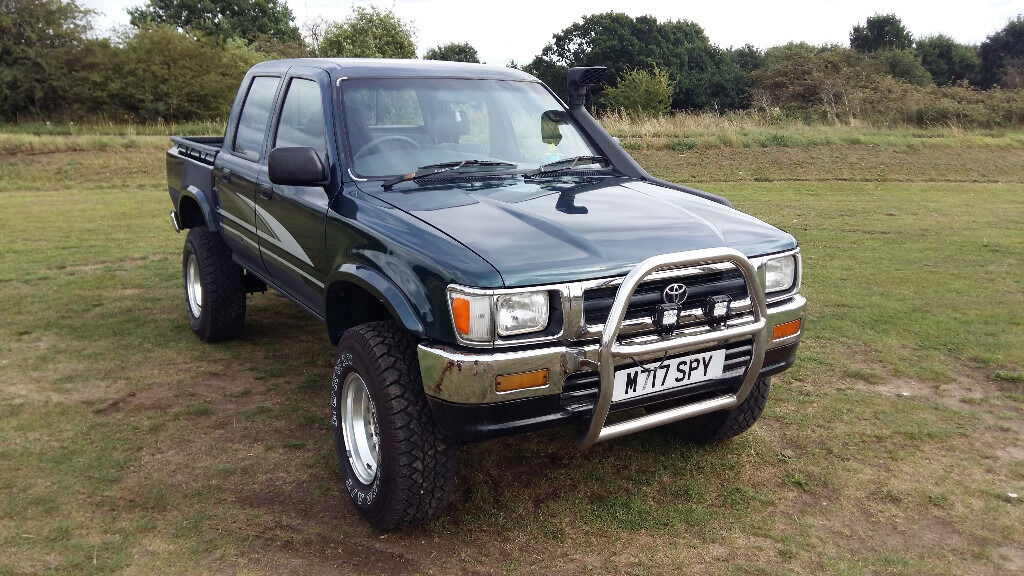Toyota Hilux Mk3 1995 2 8turbo Diesel In Thetford
