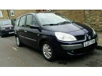 RENAULT SCENIC 2007 AUTOMATIC LOW MILLAGE FULL SERVICE HISTORY MPV FOLDED 7 SEATER