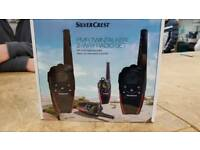 Silvercrest 2 way walkie talkie