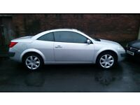 Renault Megane cc 1.6 16v, low mileage, leather, Karmann