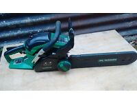 Petrol Chainsaw 47cc Nearly new - used for one project