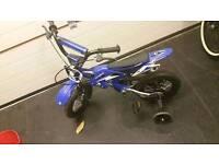 12 inch bike with stabilisers